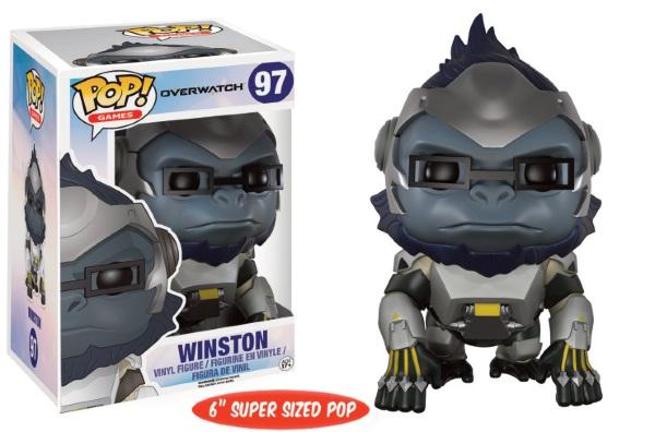 Pop Games: Overwatch - 6 inch Oversized Winston [97]