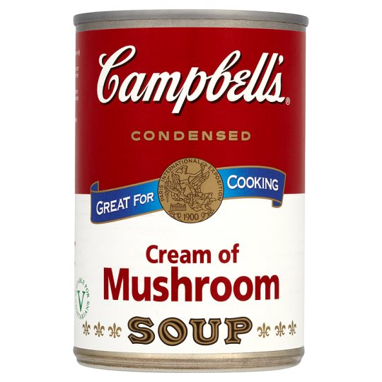 Campbells Condensed Cream of Mushroom Soup 295g