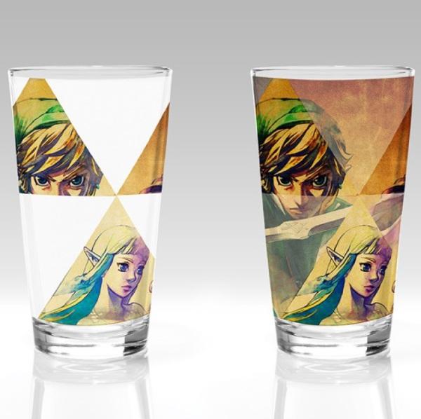 The Legend Of Zelda: Hyrule Colour Change Glass