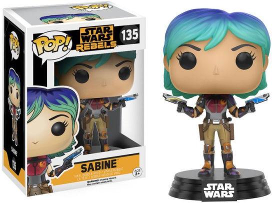 Pop! Star Wars: Star Wars Rebels - Sabine [135]