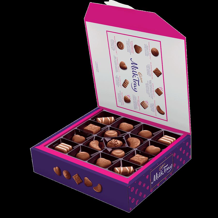 Bild av Cadbury Milk Tray Chocolate Box 360g