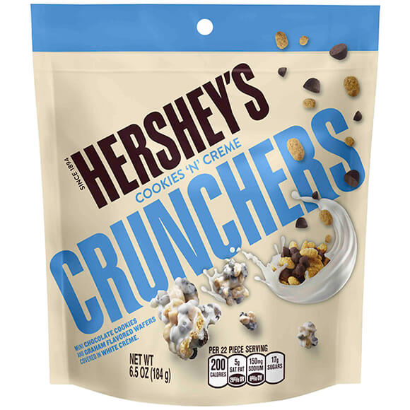Bild av Hersheys Cookies n Creme Crunchers 172g