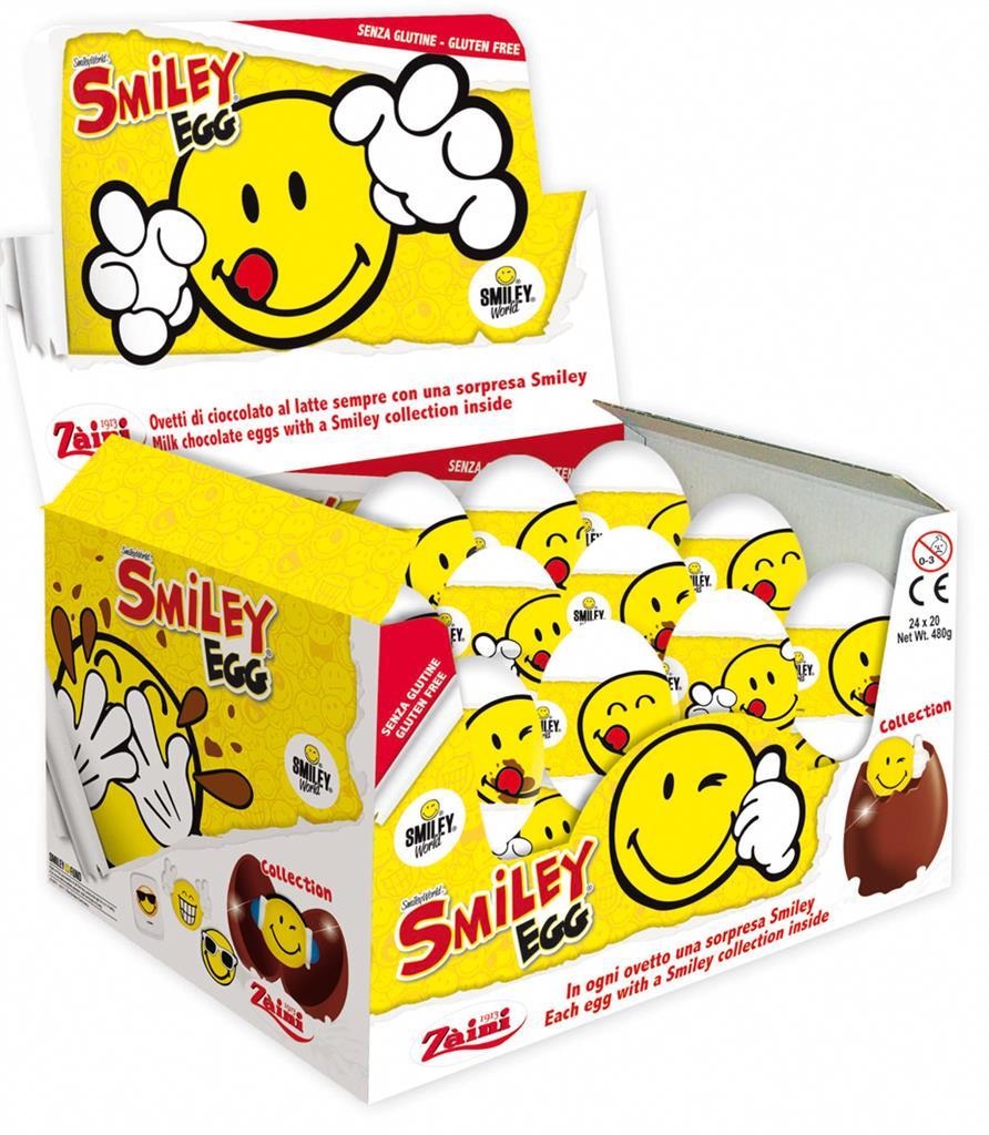 Chokladägg Smiley