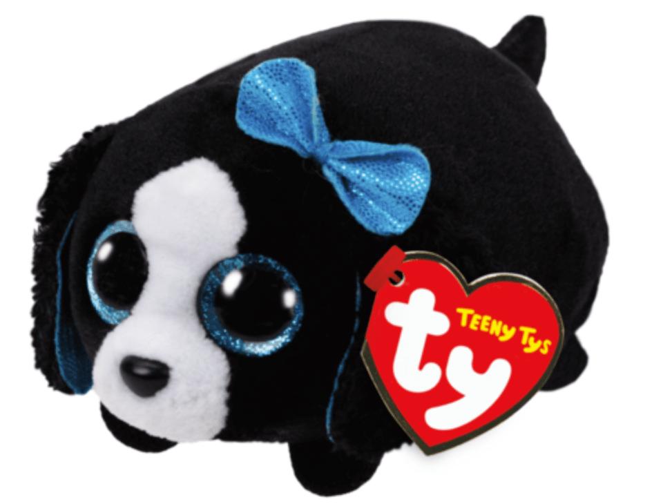 TY Teeny Tys Marci - Hund med Rosett 9cm