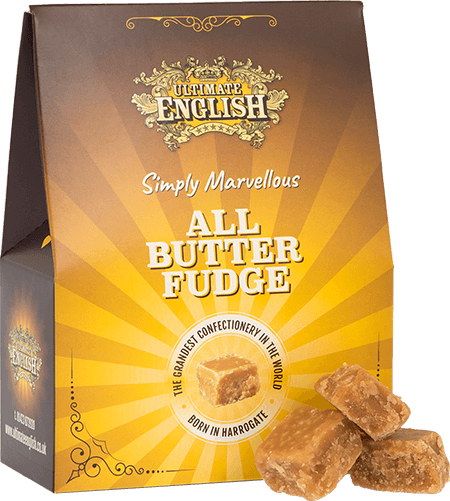 Ultimate English All Butter Fudge 150G