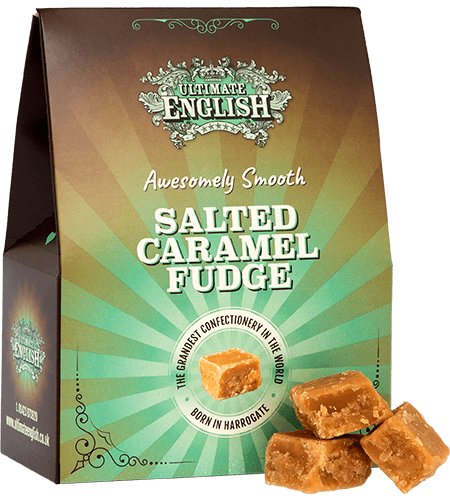 Ultimate English Salted Caramel Fudge 150G
