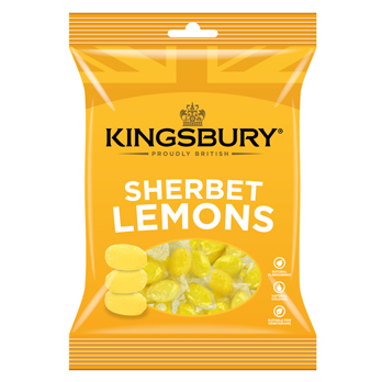Kingsbury Sherbet Lemon 160g
