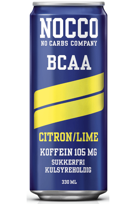 NOCCO BCAA 330ml Citron/lime