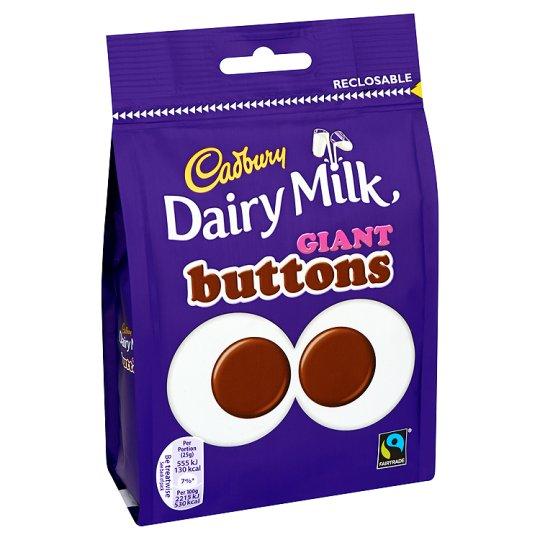 Bild av Cadbury Dairy Milk Giant Buttons 119g