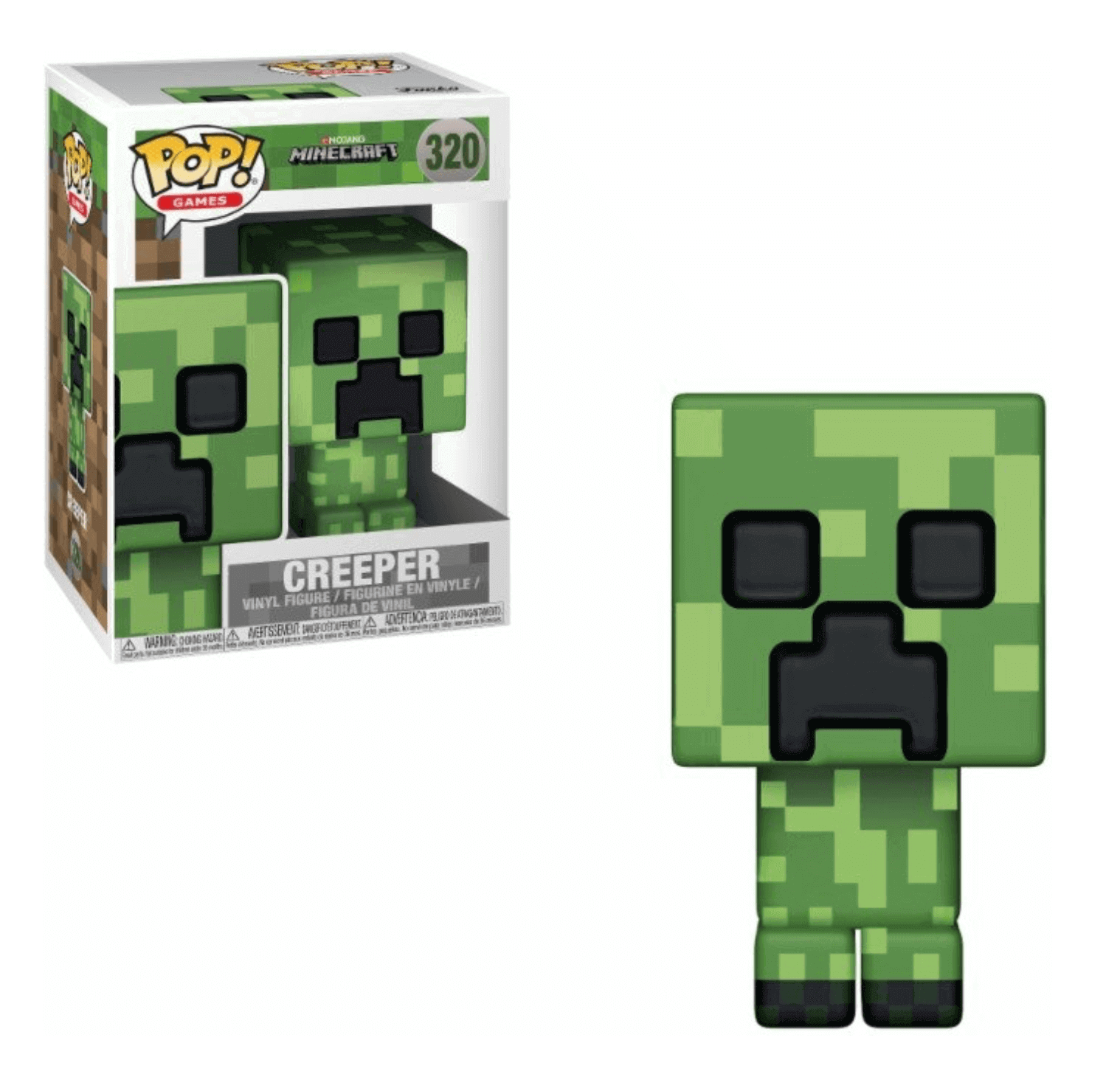 Pop! Games: Minecraft - Creeper
