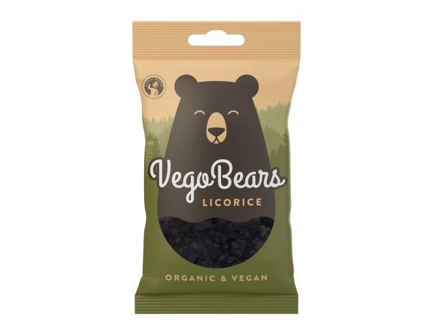 Vego Bears Licorice 50g
