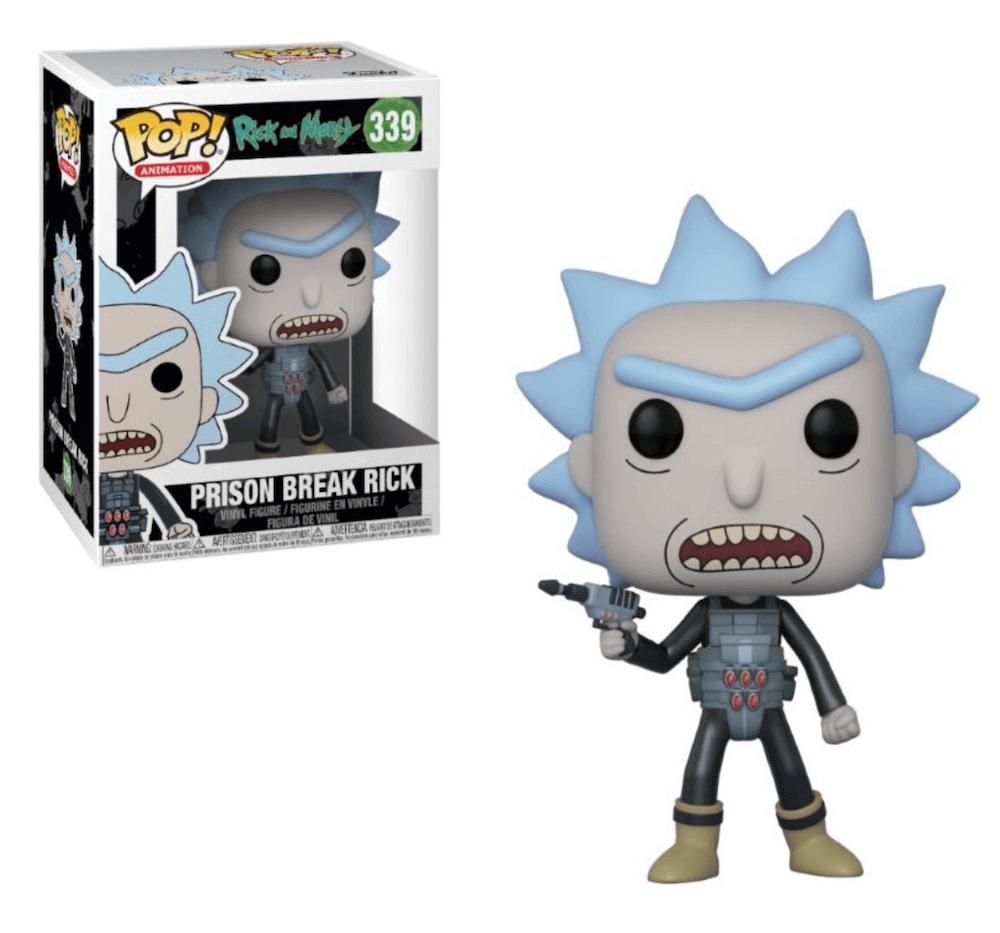 Pop! Cartoons: Rick and Morty - Prison Escape Rick