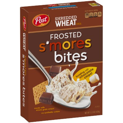 Post Shredded Wheat Frosted Smores Cereal 439g