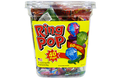 Ring Pop 40st