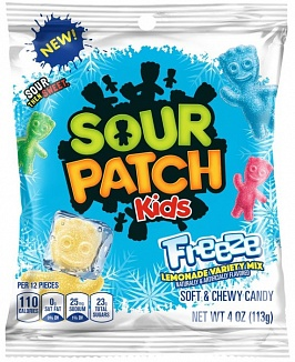 Sour Patch Kids Freeze Lemonade Mix 113g