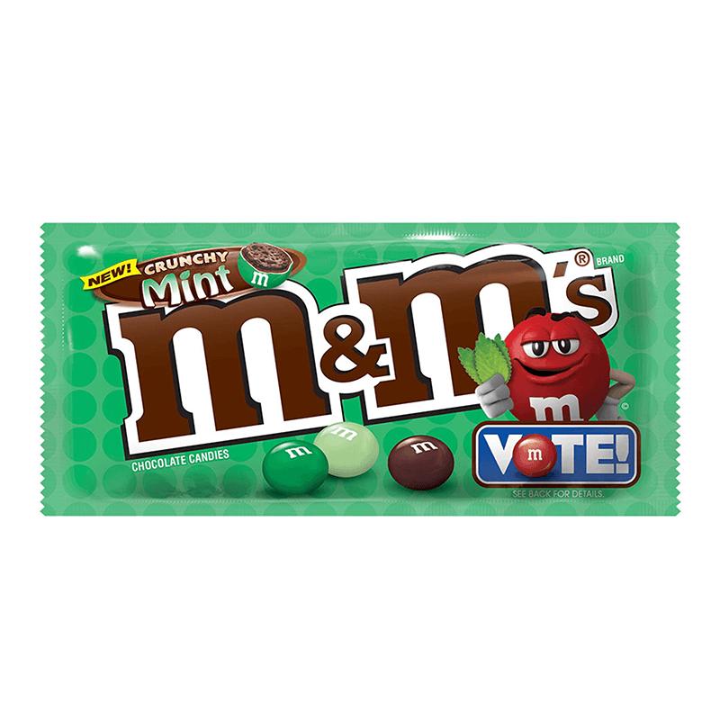 M&Ms Crunchy Mint 38g