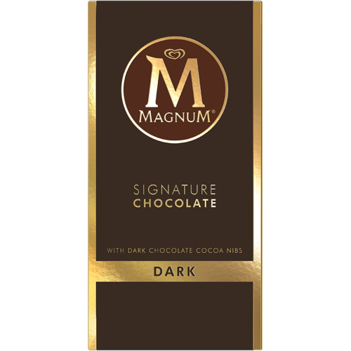 Magnum Dark Chocolate Bar with Cocoa Nibs 90g