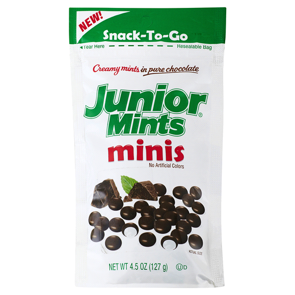 Bild av Junior Mints Minis Bag 127g