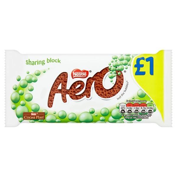 Bild av Aero Peppermint Mint Chocolate Bar 100g