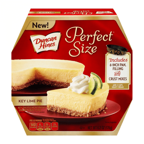 Duncan Hines Perfect Size Key Lime Cake