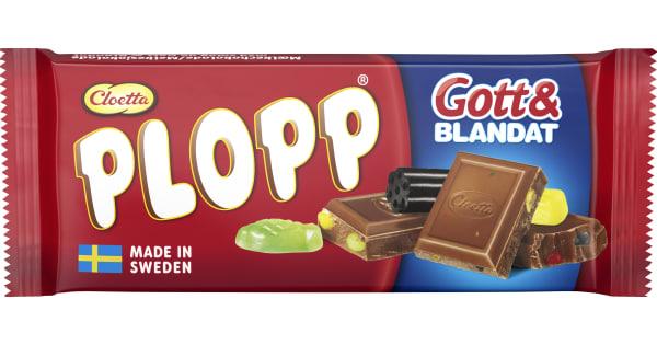 Plopp Mjölkchoklad Gott & Blandat 75g