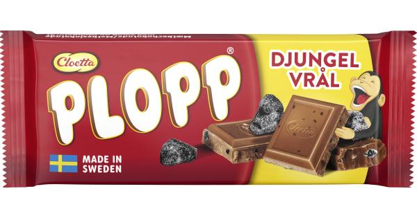 Plopp Mjölkchoklad Djungelvrål 75g