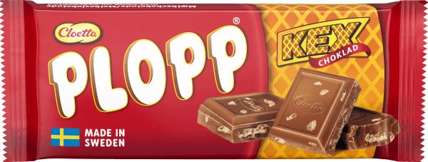 Plopp Mjölkchoklad Kexchoklad 75g