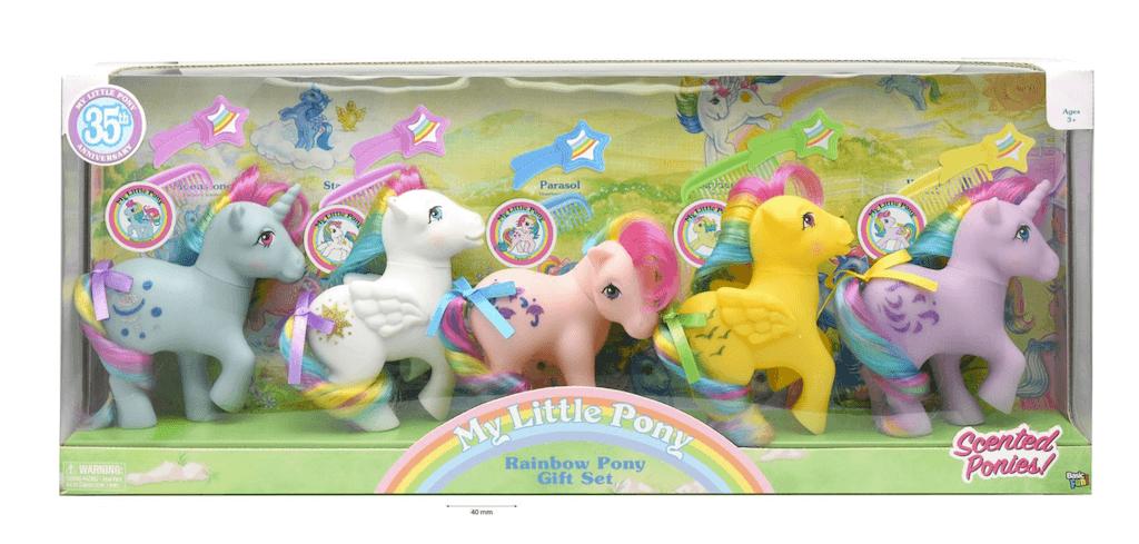 My Little Pony Retro Rainbow Pony Gift Set