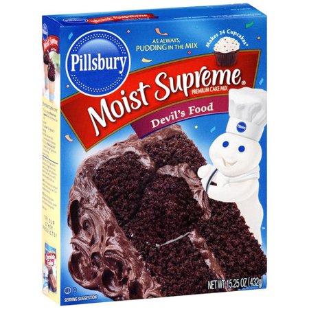 Pillsbury Moist Supreme Devils Food Cake Mix 432g