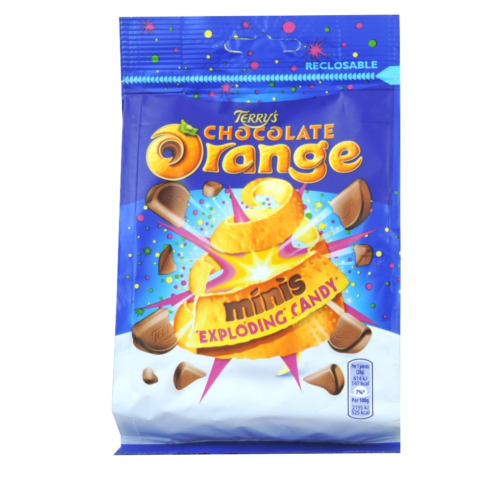 Bild av Terrys Chocolate Orange Minis Exploding Candy Chocolate 125g