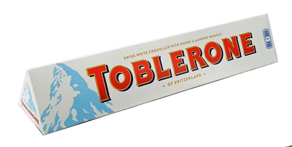 Bild av Toblerone White Chocolate Bar 360g