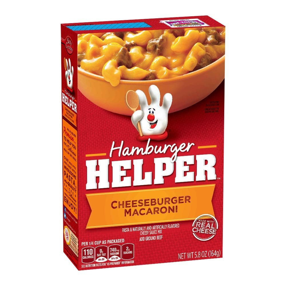 Hamburger Helper - Cheeseburger Macaroni 155g