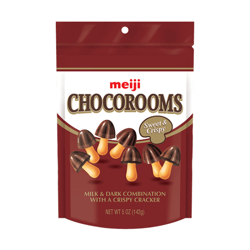 Meiji Chocorooms Choklad 38g