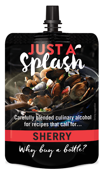 Just a Splash Sherry 100ml