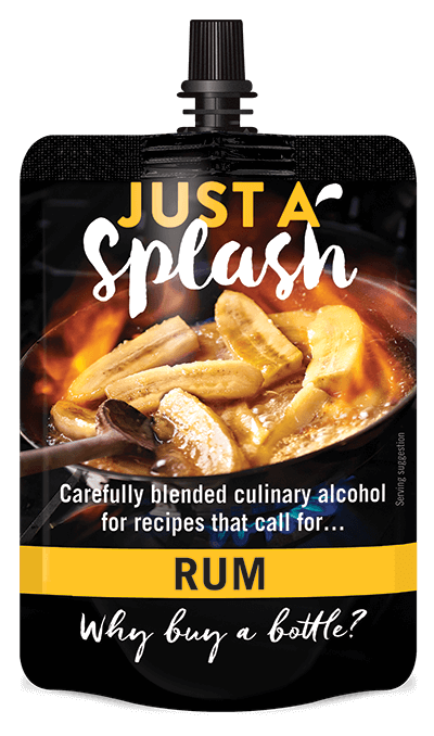 Just a Splash Rum 100ml
