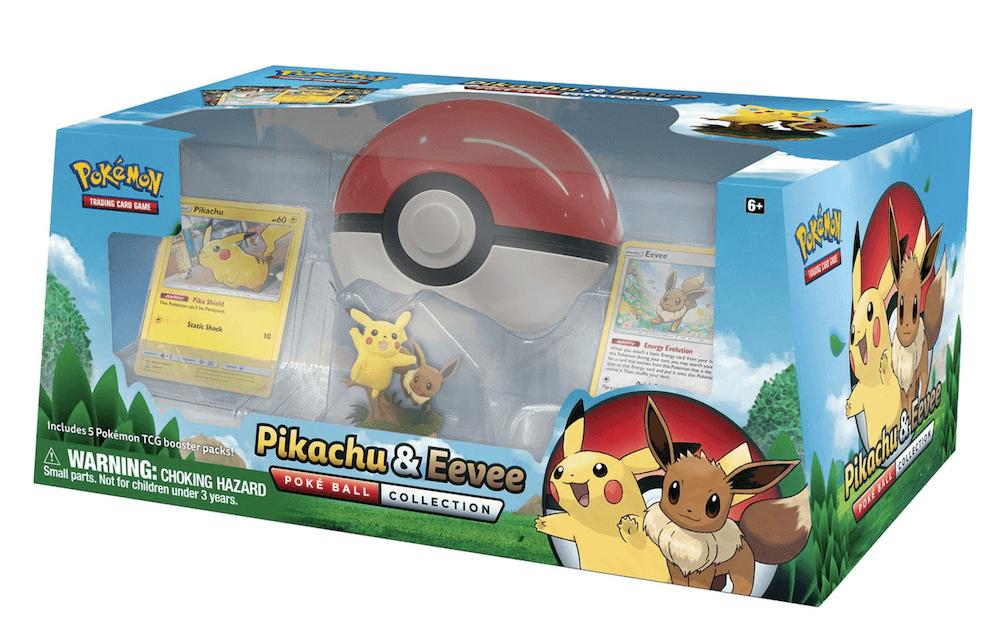 Poke Box Pikachu & Eevee PokeBall Box