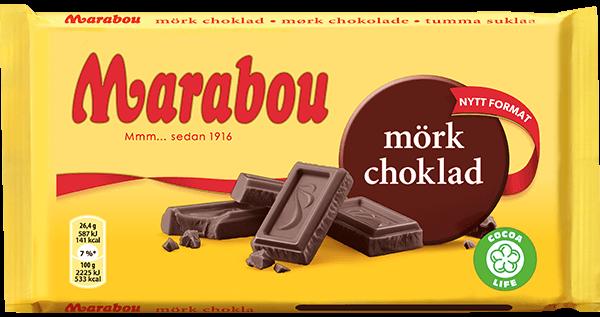 Marabou Mörk Choklad 185g