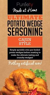 Pureety Cajun Style Potato Wedge Seasoning 40g