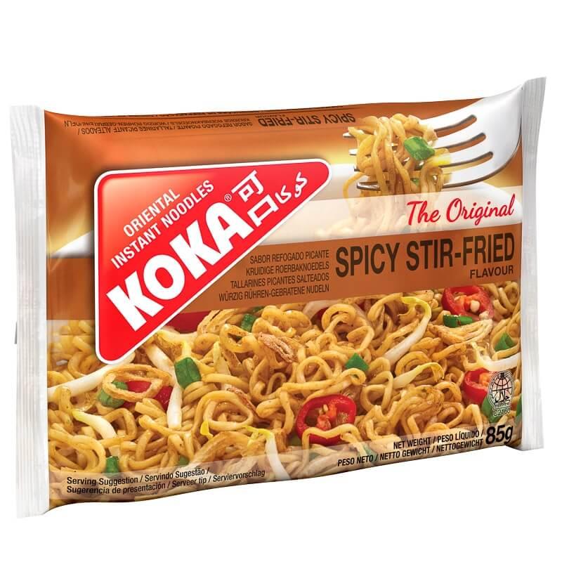 Koka Spicy Stir-Fried Oriental Instant Noodles 85g