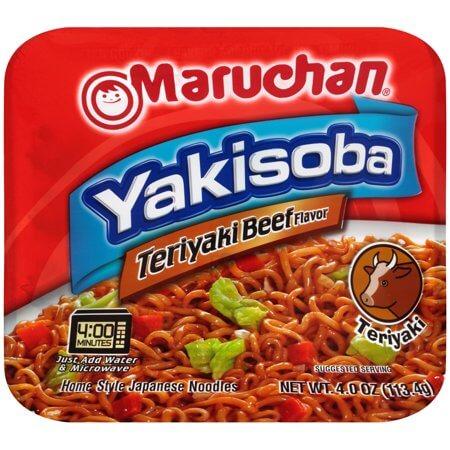 Maruchan Yakisoba - Teriyaki Beef Flavor 112g
