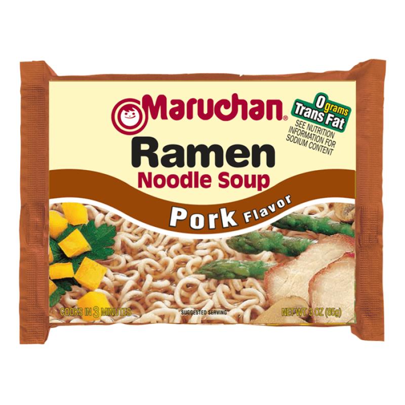 Maruchan Ramen Noodles Pork Flavor 85g