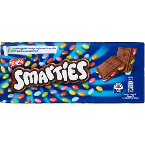 Smarties Chokladkaka 100g