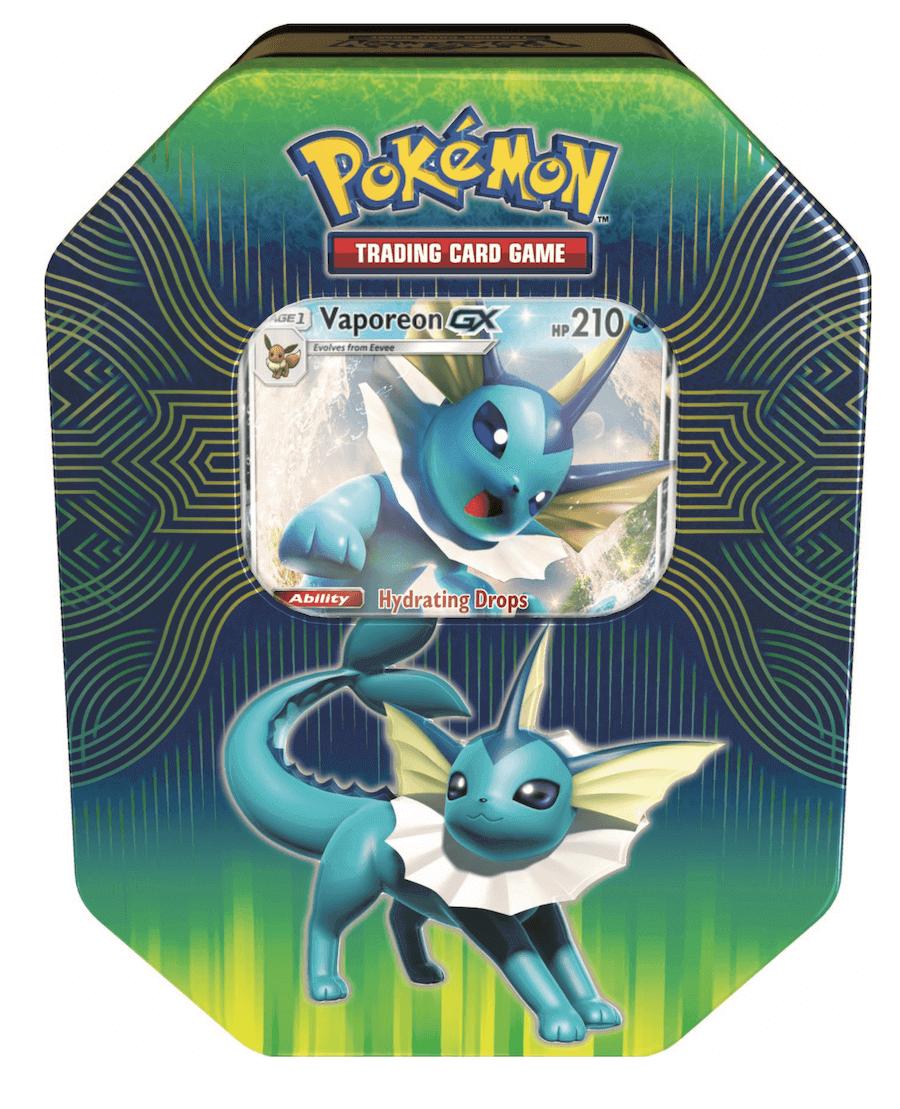 Pokemon Tin 19 GX Elemental Power - Vaporeon