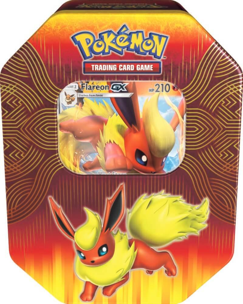 Pokemon Tin 19 GX Elemental Power - Flareon