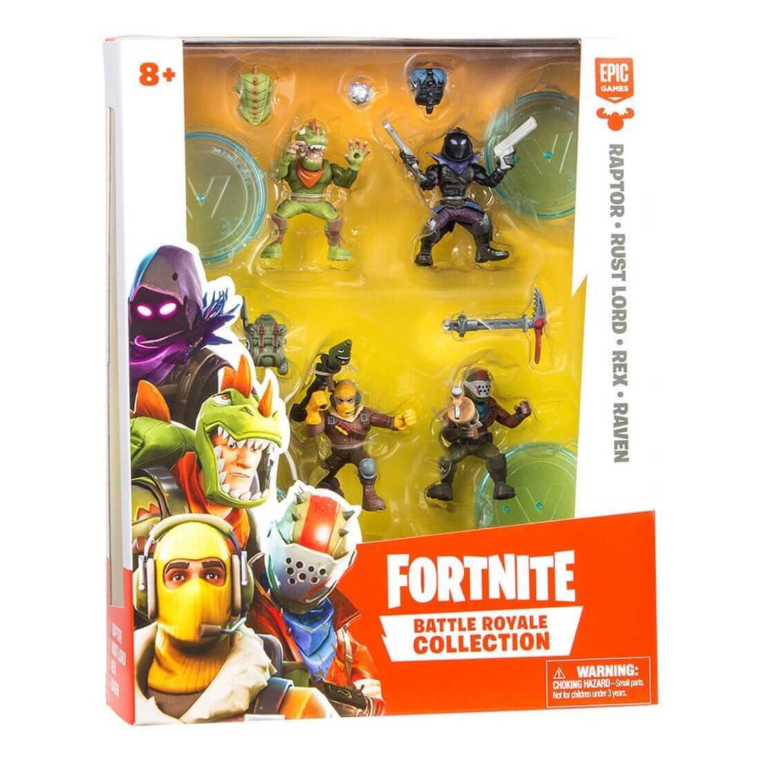 Fortnite Battle Royal Collection Samlarfigur Squad Pack