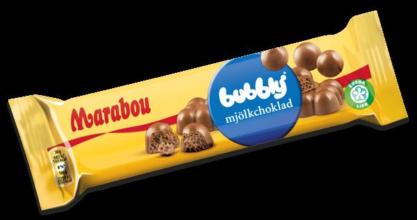 Marabou Bubblig Mjölkchoklad 60g