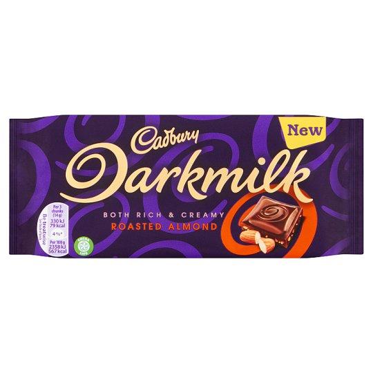 Bild av Cadbury Dark Milk Almond Chocolate Bar 85g