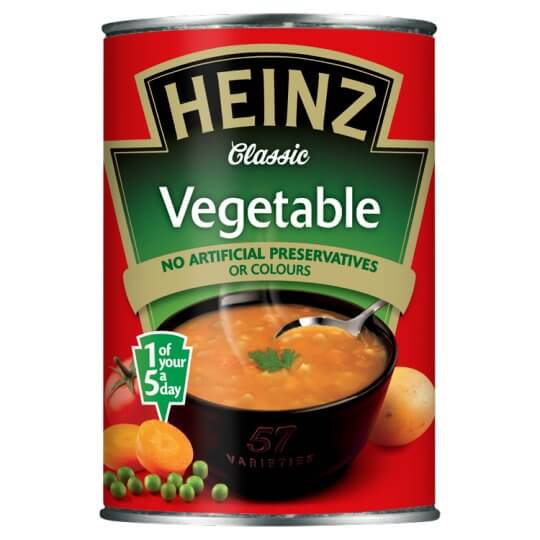 Heinz Classic Vegetable Soup 400g