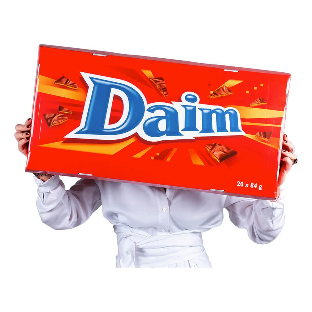 Gigantisk Choklad Daim