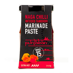 Punjaban Naga Chilli Tandoori Marinade Paste 210g